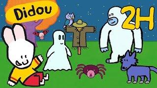 getlinkyoutube.com-2 heures de Didou, dessine Halloween : monstres, fantômes, yéti, contes de fée | Compilation