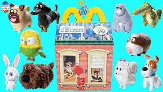 getlinkyoutube.com-Cajita Feliz Mc Donald's La vida secreta de tus mascotas Colección Completa  | JuguetesYSorpresas