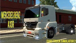 getlinkyoutube.com-Euro Truck Simulator 2 - MERCEDES BENZ AXOR