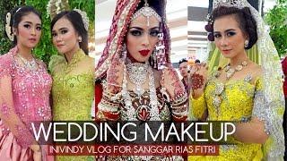 Tutorial Makeup Wedding dan Vlog inivindy Event Sanggar Rias Fitri Wedding Show