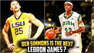 getlinkyoutube.com-Why BEN SIMMONS IS The Next LEBRON JAMES?