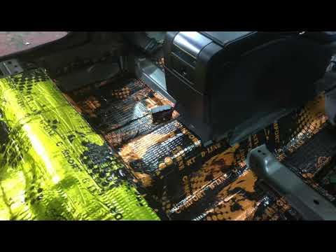 Volvo S80 вибро-шумоизоляция материалами производителя Комфорт.мат. Да будет тихо!
