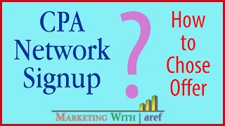 getlinkyoutube.com-CPA Network Signup & Offer Selection | Marketing with aref
