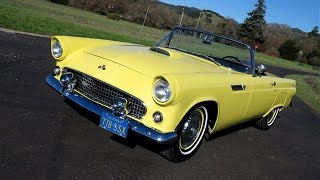 getlinkyoutube.com-1955 Ford Thunderbird Convertible for Sale in Sonoma California