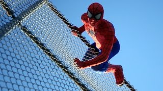 getlinkyoutube.com-The Amazing Spider-Man in San Diego - Real Life Parkour Stunts | DoubleAVideo