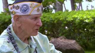 getlinkyoutube.com-World War II Vets Return To Pearl Harbor