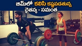 naga chaitanya samantha gym workout video | rarandoi veduka chuddam movie
