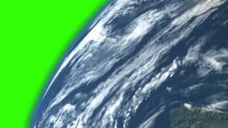 getlinkyoutube.com-Green Screen Earth Orbit (Slower)