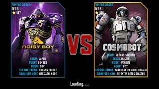 getlinkyoutube.com-Real Steel WRB Championship Noisy Boy VS Cosmobot NEW UPDATE