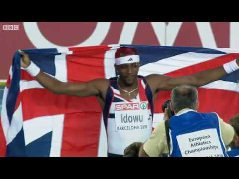 Phillips Idowu 17.81m Wins European Triple Jump Title