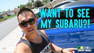 getlinkyoutube.com-Want to see my Car? 2011 Subaru WRX Vlog SmurfinWRX