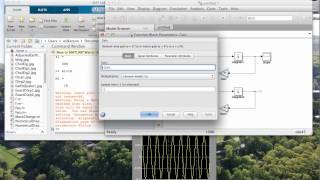 Simulink model Spring Mass system
