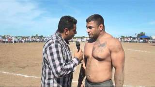 getlinkyoutube.com-Dulla Ferozpuria  One of the Most Powerful USA Kabaddi Raider   Live Kabaddi