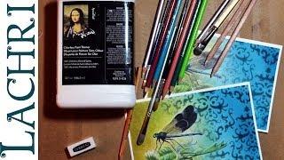 getlinkyoutube.com-Basics to blending in colored pencil - prismacolor & polychromos w/ Lachri
