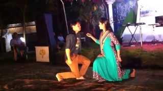 getlinkyoutube.com-Dance with Bangla romantic song during Huawei-Airtel team building at Bandorban ...!