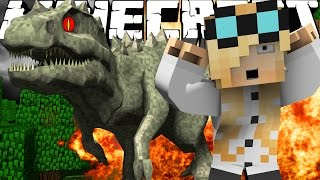 "Minecraft Dinosaurs | Jurassic Craft Modded Survival Ep 72! ""INDOMINUS SPINOSAURUS!"""