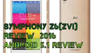 getlinkyoutube.com-Symphony z6[zvi] Review (Lollipop 5.1)  2016