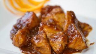 getlinkyoutube.com-Pollo con Salsa de Naranja Estilo Chino Receta