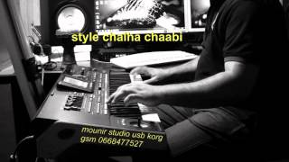 getlinkyoutube.com-mounir studio usb korg - style chalha _ amazigh
