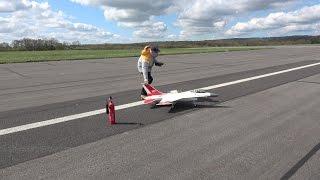 getlinkyoutube.com-Jet Legend 1/8 scale F16 from a SONY FDR - AX53 4K