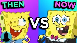 SpongeBob SquarePants - Then VS. Now - Evolution of SpongeBob (ToonedUp #256) - ChannelFrederator
