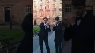 Dublin College Acapella Group 'Trinitones' Perform Amazing George Ezra Cover width=