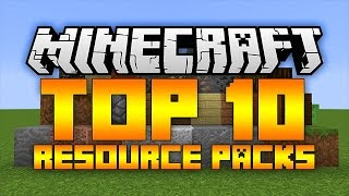 getlinkyoutube.com-Top 10 Minecraft Resource Packs (Minecraft 1.11.2) - 2017 [HD]