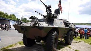 getlinkyoutube.com-V-100 Commando Armored Vehicle (Cadillac Gage - Textron Systems)