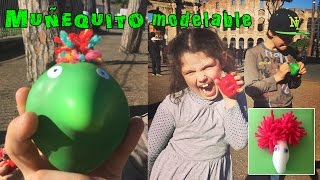 getlinkyoutube.com-Muñeco modelable para niños * ANTIESTRES