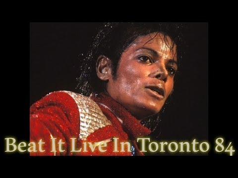 Michael Jackson - Beat It Live In Toronto 84