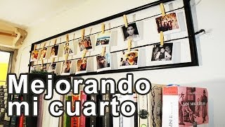 getlinkyoutube.com-Decora tu cuarto: Cuadro de fotos #Instagram