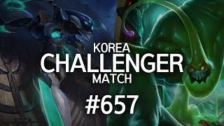 Korea Challenger Match #657 | Faker, Marin, Ucal, Blank, Ruler