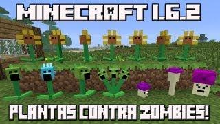 getlinkyoutube.com-Minecraft 1.6.2 MOD PLANTAS CONTRA ZOMBIES!