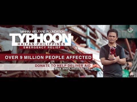 Typhoon Haiyan 2013 - Minhaj Welfare