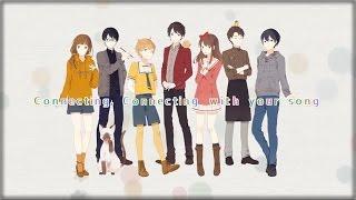 getlinkyoutube.com-Connecting ❀ Smile Again [Nico Nico Chorus]