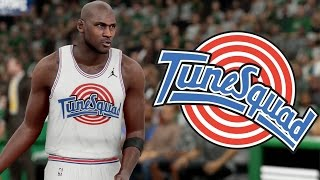 NBA 2k16 - The Tune Squad #1 - Michael Jordan, Charles Barkley, and More!