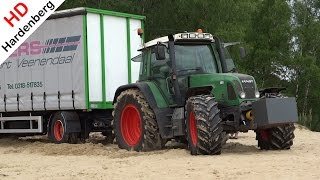 getlinkyoutube.com-Fendt Favorit 712 | Stuck in the Kootwijkerzand | Netherlands |  2015.