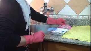 getlinkyoutube.com-ميه وصابون - تنظيف المطبخ