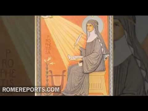 Benedict XVI officially declares Hildegard of Bingen a Saint