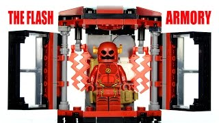 getlinkyoutube.com-LEGO CW's The Flash Armory Tech Gear KnockOff Set Speed Build