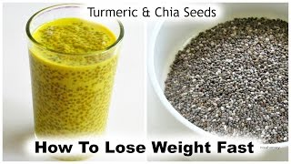 getlinkyoutube.com-How To Lose Weight Fast With Turmeric & Chia Seeds - 5 kg - Golden Milk Chia Pudding - Turmeric Milk