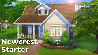 getlinkyoutube.com-The Sims 4: House Building - Newcrest Starter