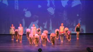 U13 Lyrical 'Titanium' 2013 Backstage Dance Academy