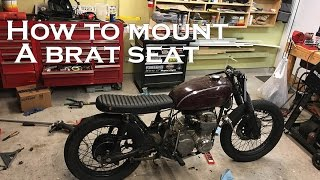 getlinkyoutube.com-How to build a CB550 Cafe Racer / Brat : Part 5 Mounting a Brat seat