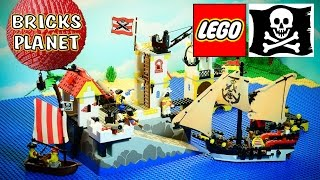 getlinkyoutube.com-Imperial Trading Post 6277 LEGO Pirates - Stop Motion Review