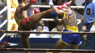Muay Thai - Superlek vs Pornsanae, Rajadamnern Stadium Bangkok, 10th September 2014 (Full Fight)