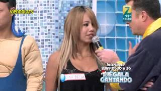 getlinkyoutube.com-Luna Bella en Riegala Cantando.