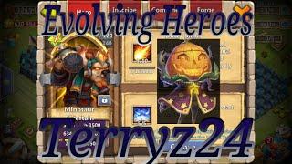 getlinkyoutube.com-Amazing New Update Evolving Heroes Part 2 - Castle Clash IGG