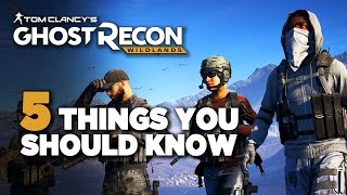 getlinkyoutube.com-5 Things You Should Know Before Playing Ghost Recon: Wildlands Open Beta