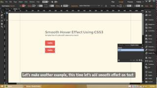 getlinkyoutube.com-Smooth Hover Effect in Adobe Muse CC